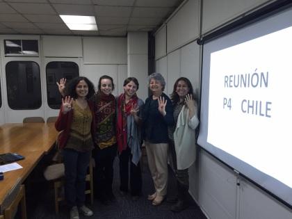 Reunión Grupo de Trabajo P4 Chile